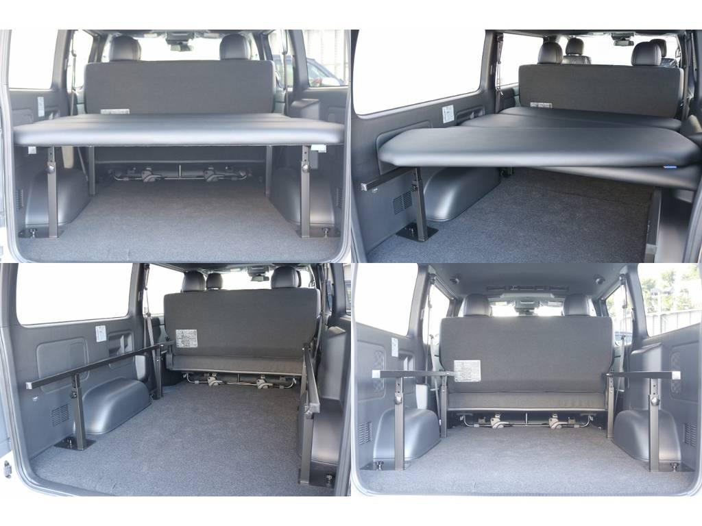 ベッドキットは取り外し可能♪ | トヨタ ハイエースバン 2.8 スーパーGL ダークプライムⅡ ロングボディ ディーゼルターボ
