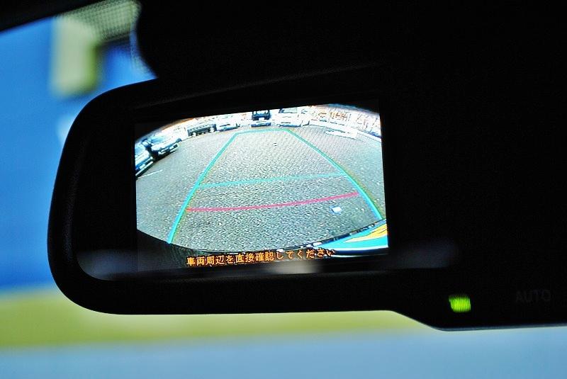 バックカメラ内蔵のルームミラーで駐車も楽々♪ | トヨタ ハイエースバン 2.0 スーパーGL 50TH アニバーサリー リミテッド ロングボディ ANV グラファイトM  ナビPKG