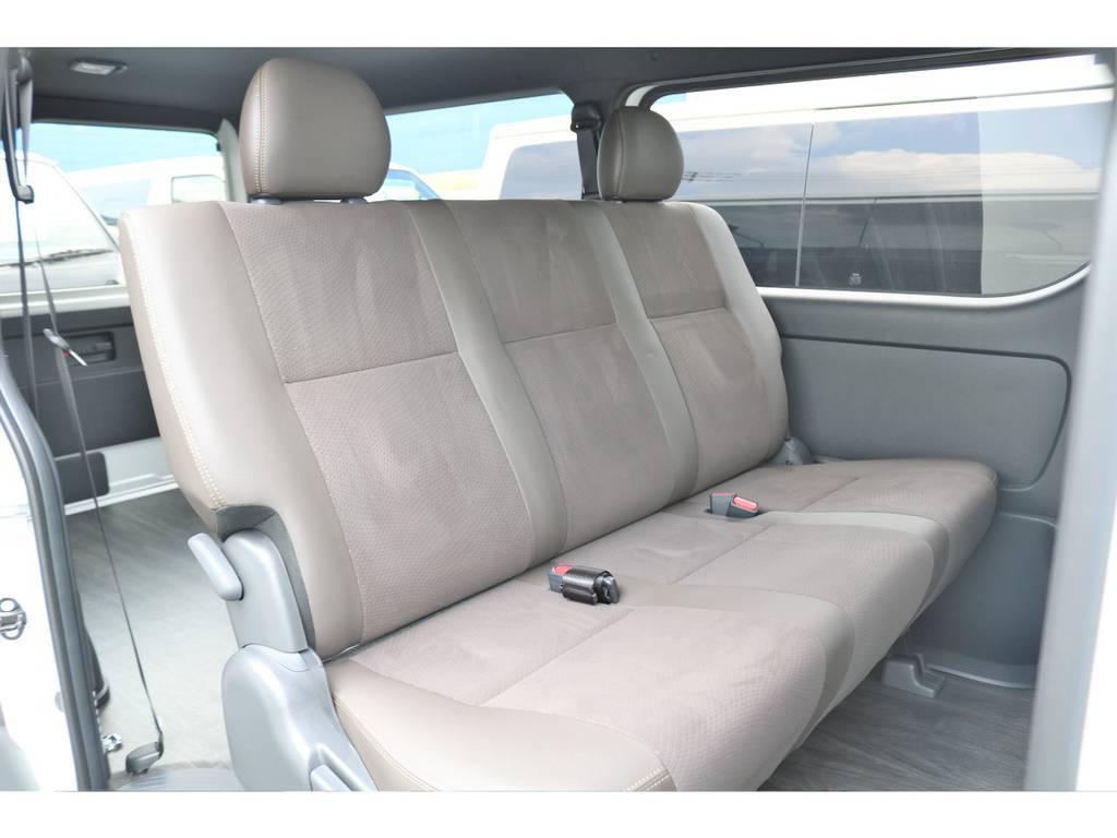 特別仕様車専用のレザーシートで高級感のあるシートです。