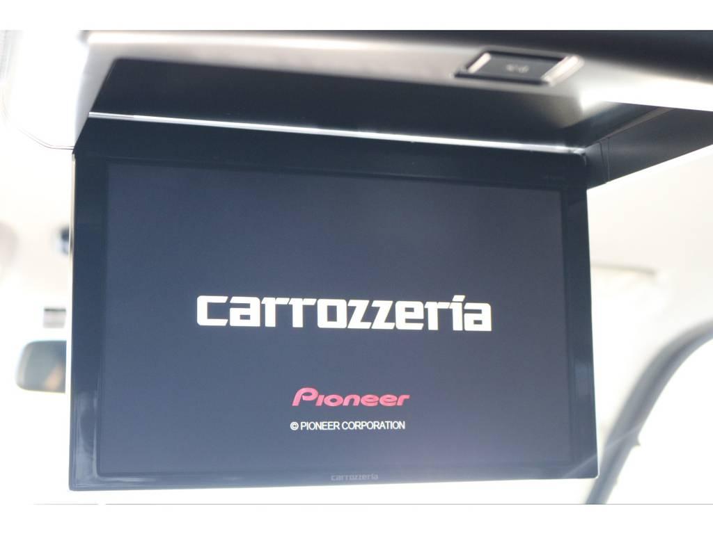 ドライブがさらに楽しくなる後席用フリップダウンモニター!