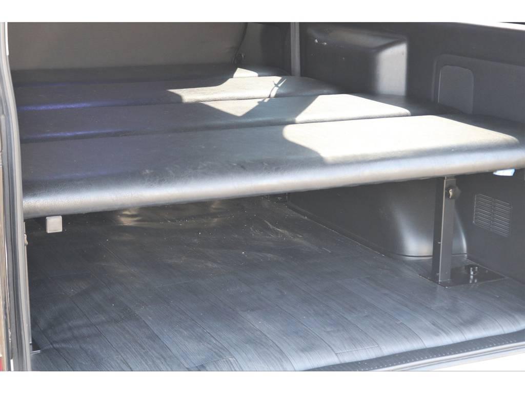 高さ調整も可能なFLEXオリジナルベッドキット!