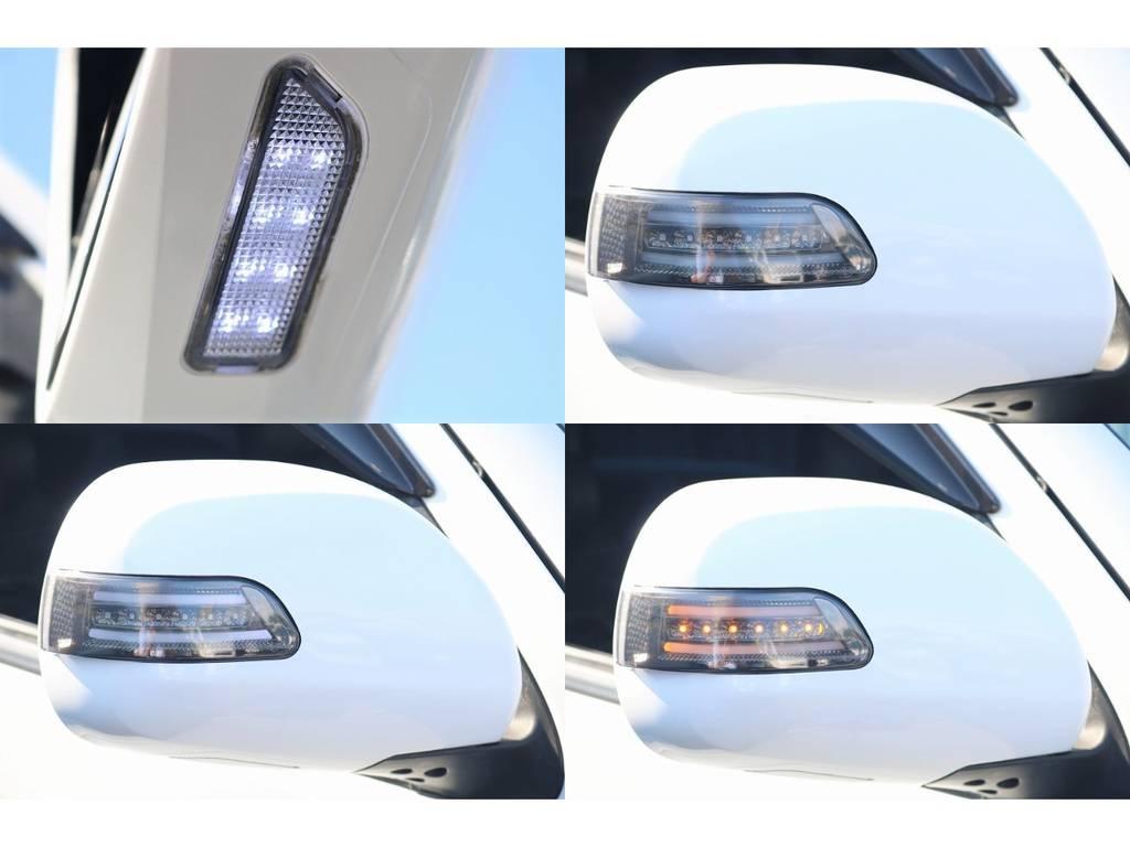 ポジションとウィンカーでサイドからの視認性が良くなるウィンカーミラーです!