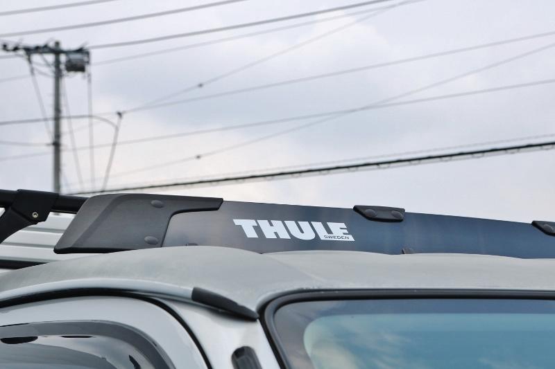 THULEのキャリア付き♪ | トヨタ ハイエースバン 2.0 スーパーGL ロング