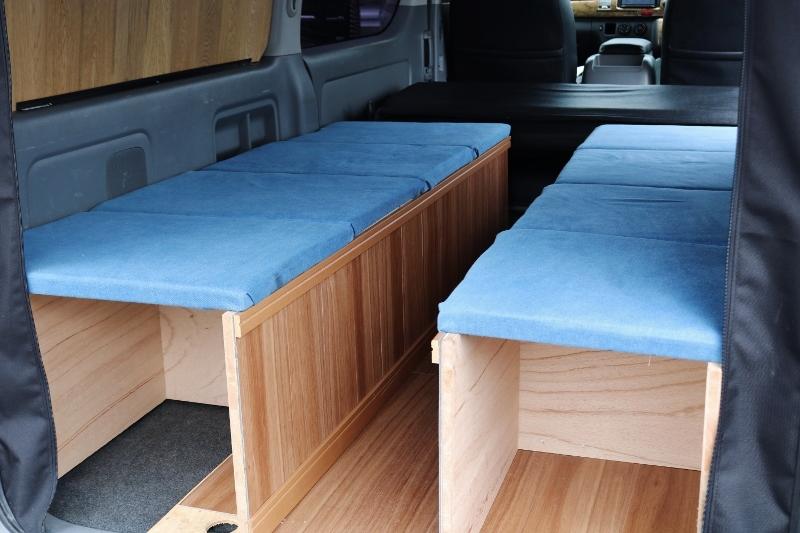 おしゃれなベッドっキット付き♪ | トヨタ ハイエースバン 2.0 スーパーGL ロング