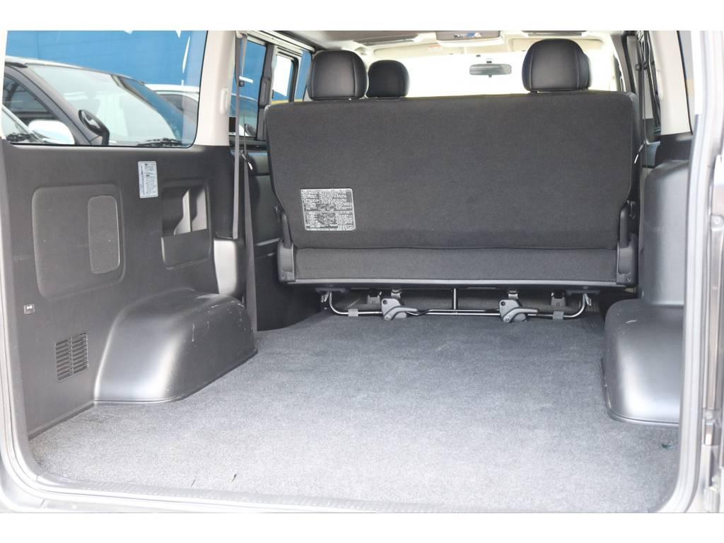 お仕事にもお買い物にも最適!たくさん荷物が載せられます! | トヨタ ハイエースバン 2.0 スーパーGL ダークプライム ロングボディ