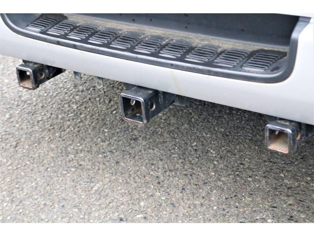 ヒッチメンバー付いてます♪ | トヨタ ハイエースバン 2.7 DX ワイド スーパーロング ハイルーフ GLパッケージ 4WD 4WD ベット キャリア ヒッチカーゴ
