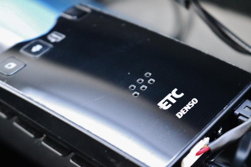 ETC装備なので高速も楽です。