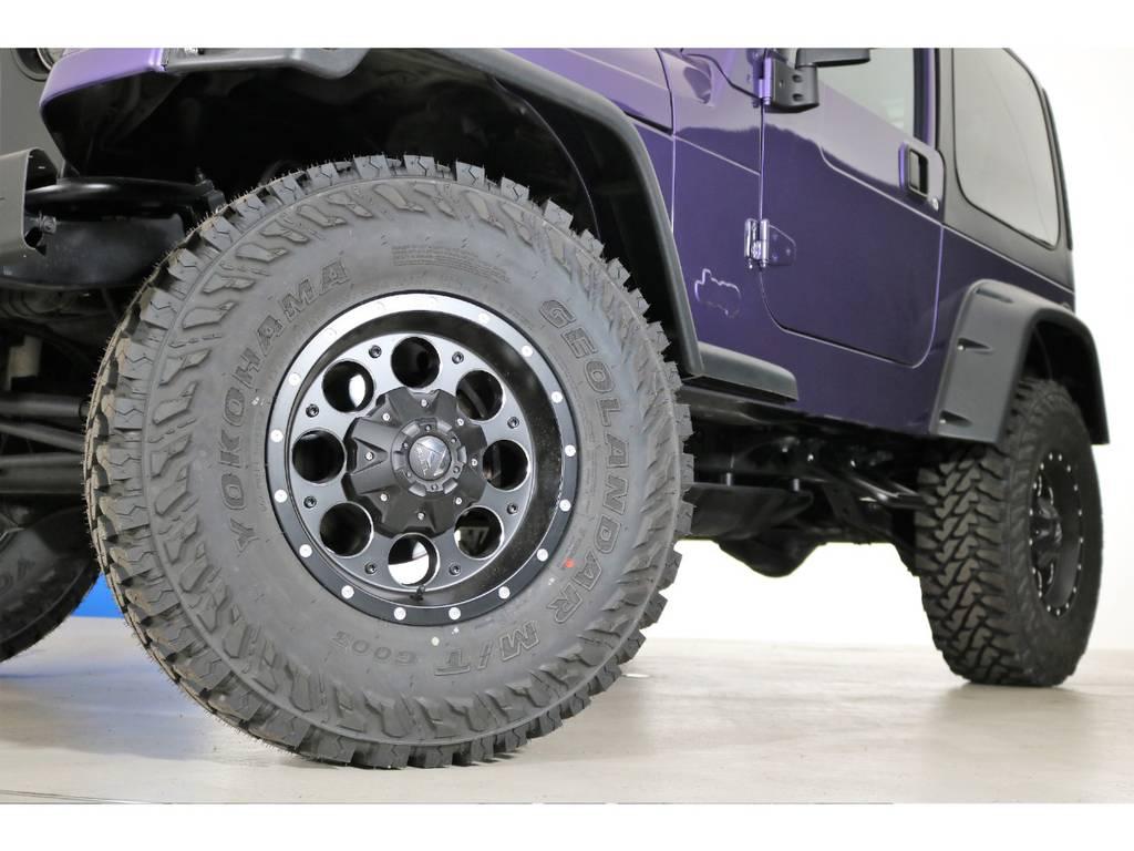 FUELリボルバーAW&ジオランダーMT 285/75/16(新品装着) | ジープ ラングラー スポーツ ソフトトップ 4WD