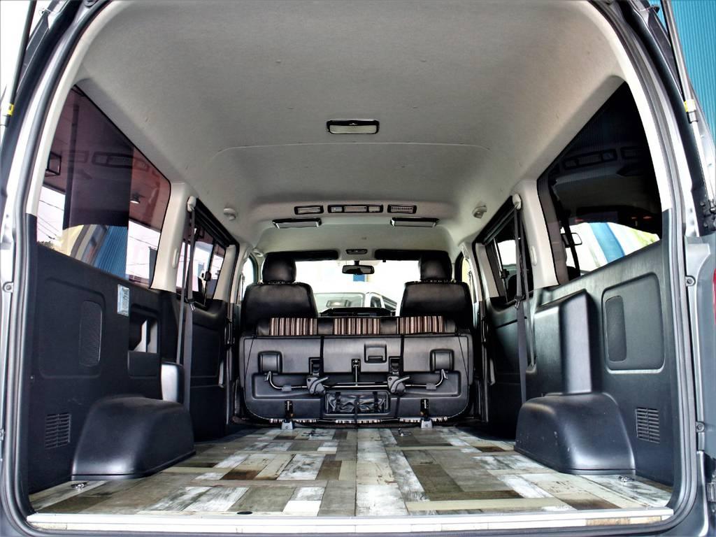 大きな荷物も楽々積めちゃいます! | トヨタ レジアスエース 2.7 スーパーGL ワイド ミドルルーフ ロングボディ 4WD