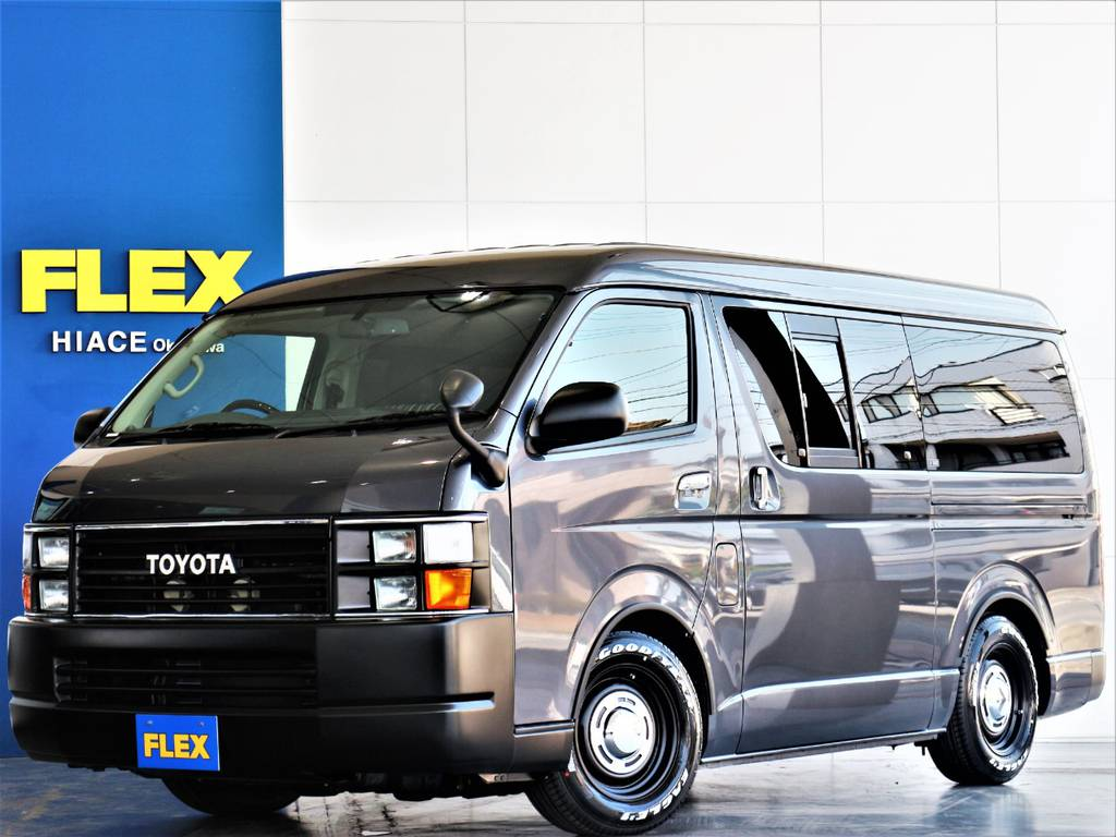 FLEXハイエースさいたま桶川店 お問い合わせはこちらまで 0487799122 | トヨタ レジアスエース 2.7 スーパーGL ワイド ミドルルーフ ロングボディ 4WD
