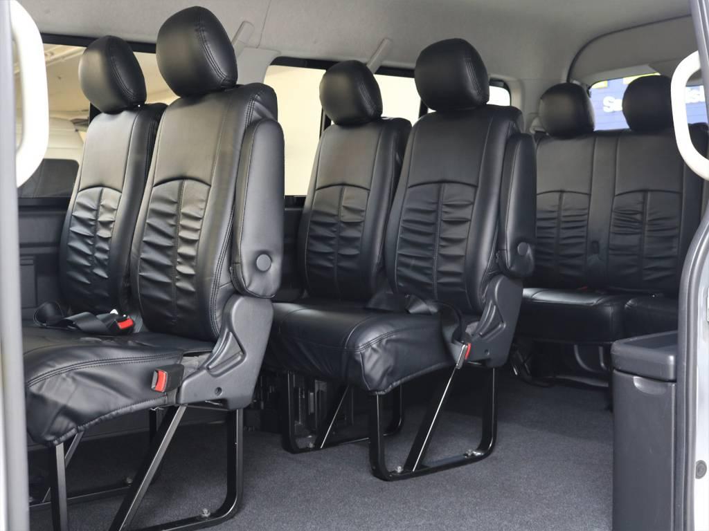 10に乗りワゴンとなります!!   トヨタ ハイエース 2.7 GL ロング ミドルルーフ 4WD 新品20inDelf01 新品煌テール
