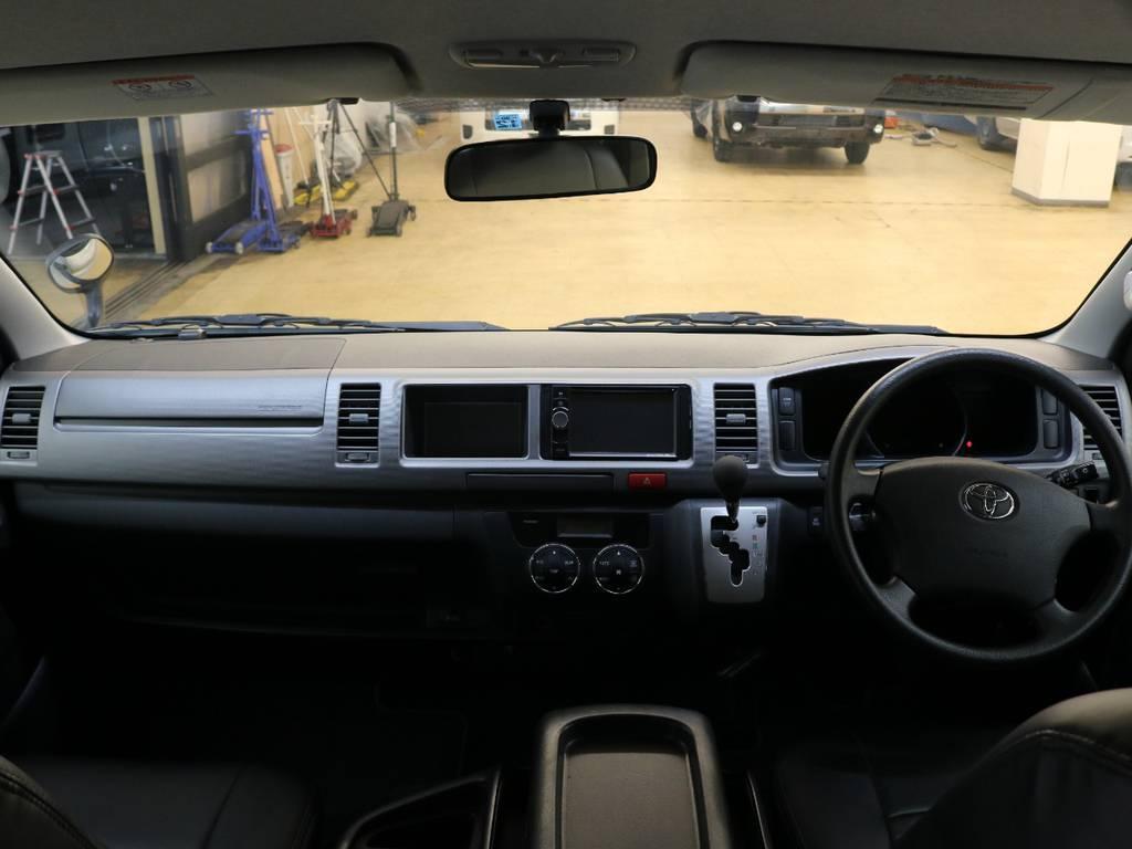 後日【インテリアパネル】装備!!   トヨタ ハイエース 2.7 GL ロング ミドルルーフ 4WD 新品20inDelf01 新品煌テール
