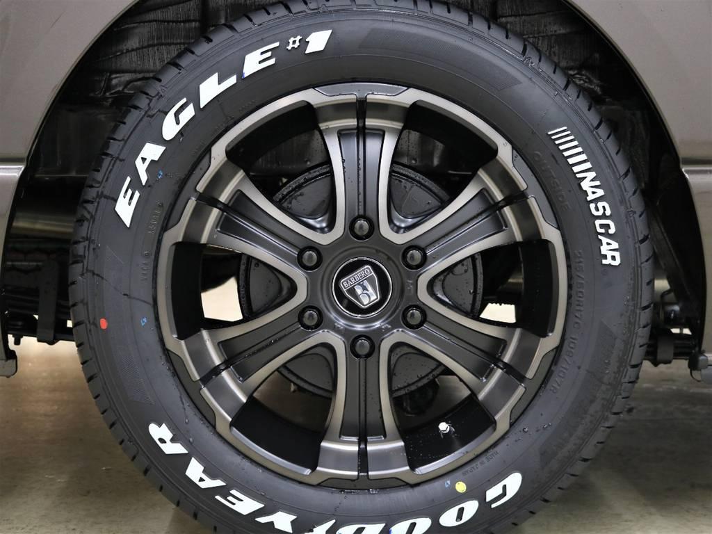 17inchFLEXオリジナルカラーバルベロワイルドディープス! | トヨタ ハイエースバン 2.7 スーパーGL 50THアニバーサリー リミテッド ワイド ミドルルーフ ロングボディ4WD FLEXベッドキット 煌テール