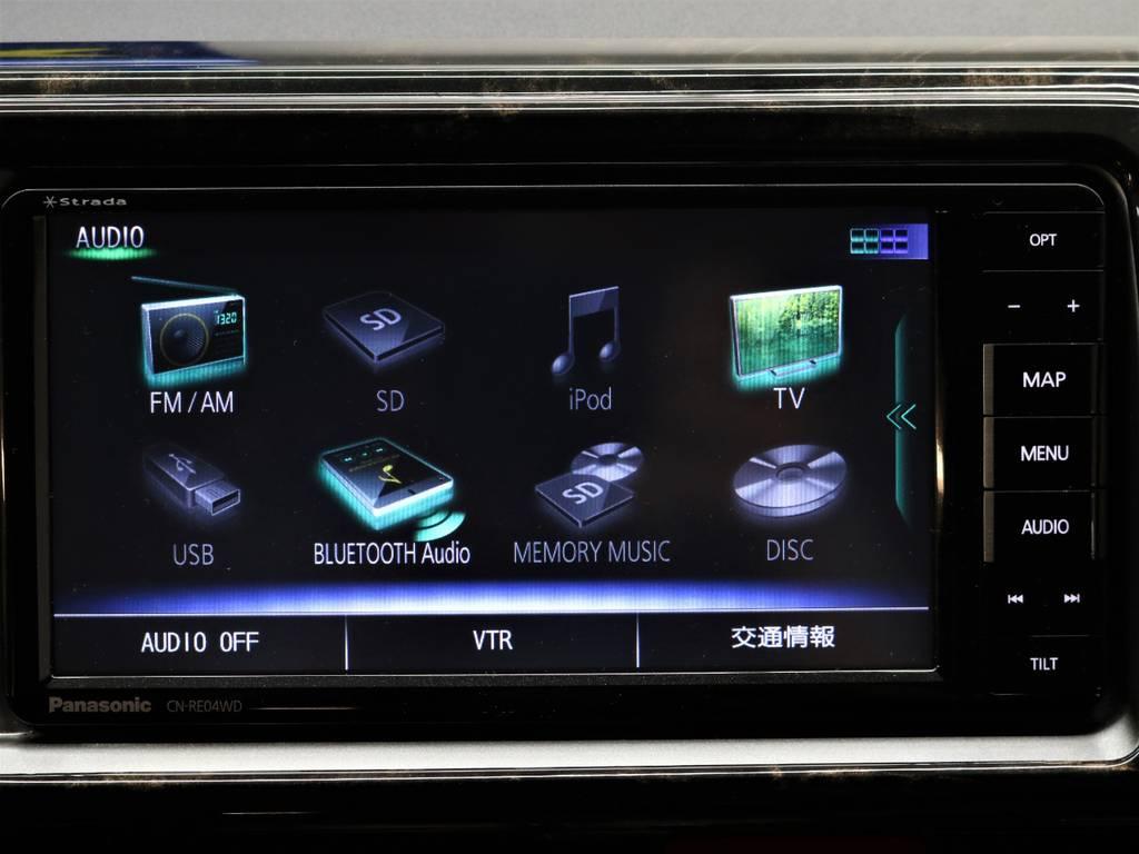 フルセグTV対応!CD/DVD再生!BluetoothMusic! | トヨタ レジアスエース 2.7 マルチロールトランスポーター タイプⅠ ワイド ロング 4WD 新品レヴィーアヘッドライト 新品ナビ