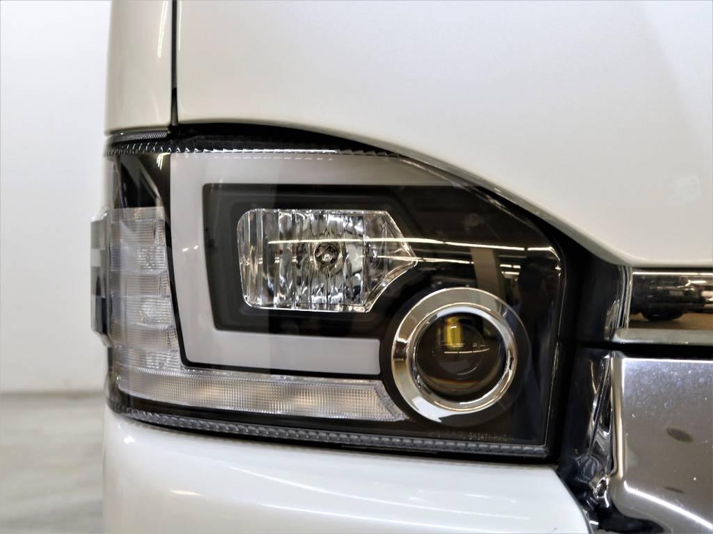 新品レヴィーアヘッドライト流星バージョン! | トヨタ レジアスエース 2.7 マルチロールトランスポーター タイプⅠ ワイド ロング 4WD 新品レヴィーアヘッドライト 新品ナビ