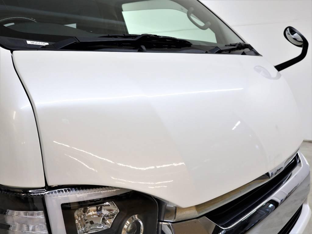 GPO Gノーズボンネット! | トヨタ レジアスエース 2.7 マルチロールトランスポーター タイプⅠ ワイド ロング 4WD 新品レヴィーアヘッドライト 新品ナビ