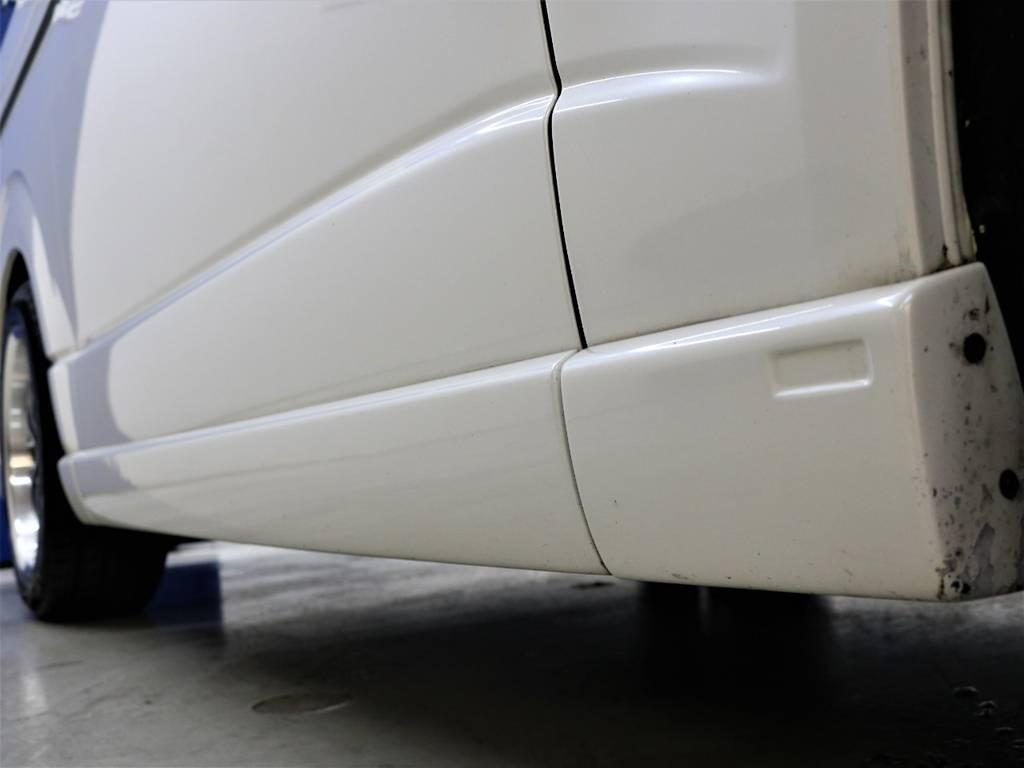 レガンスサイドカバー! | トヨタ レジアスエース 2.7 マルチロールトランスポーター タイプⅠ ワイド ロング 4WD 新品レヴィーアヘッドライト 新品ナビ