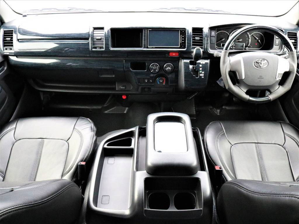 スーパーロングDX ハイルーフ 2.8ディーゼルターボ! | トヨタ ハイエースバン 2.8 DX ワイド スーパーロング ハイルーフ GLパッケージ ディーゼルターボ 4WD FLEXバルベロAW 煌REDテール