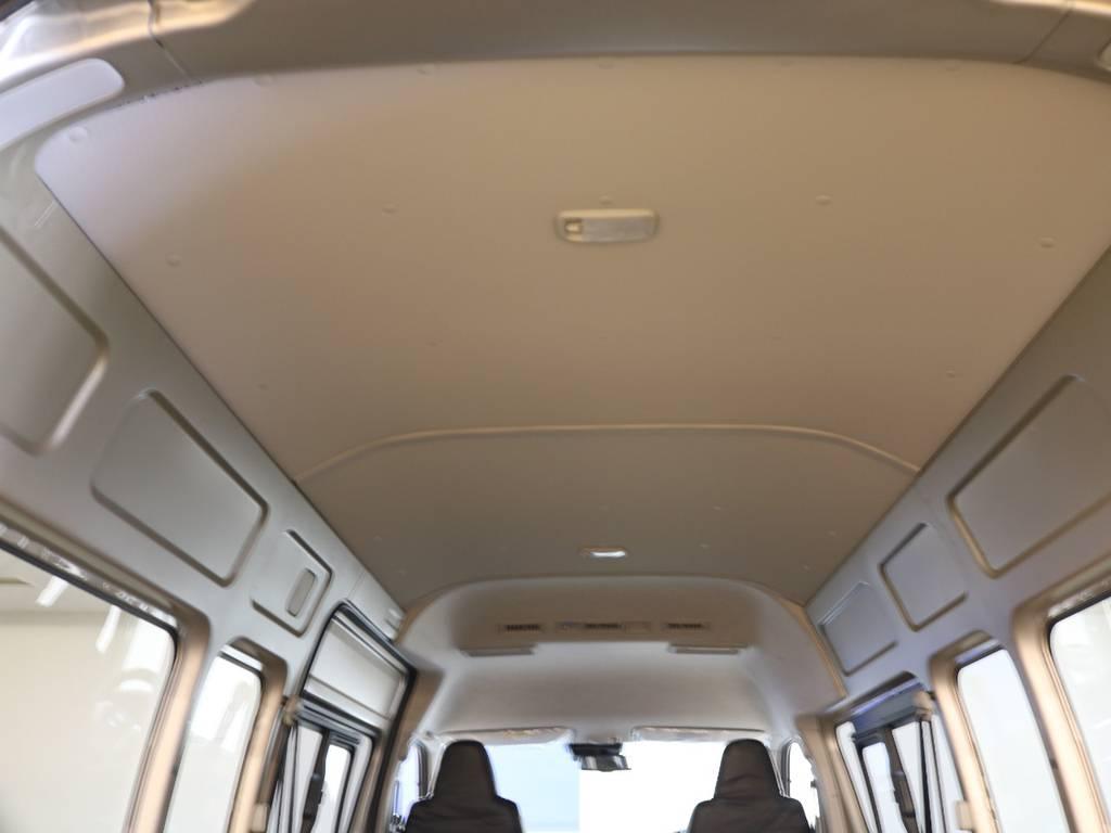 荷室高約1600mmあります! | トヨタ ハイエースバン 2.8 DX ワイド スーパーロング ハイルーフ GLパッケージ ディーゼルターボ 4WD FLEXバルベロAW 煌REDテール