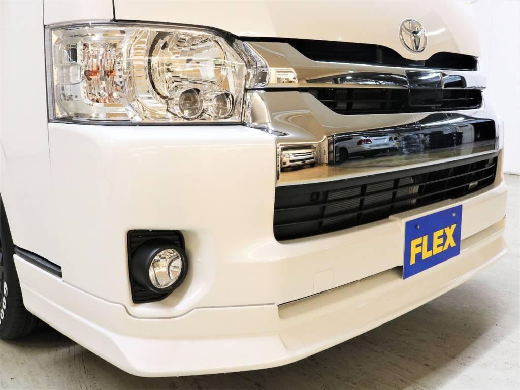 FLEXオリジナル【DelfinoLine】フロントリップスポイラー!