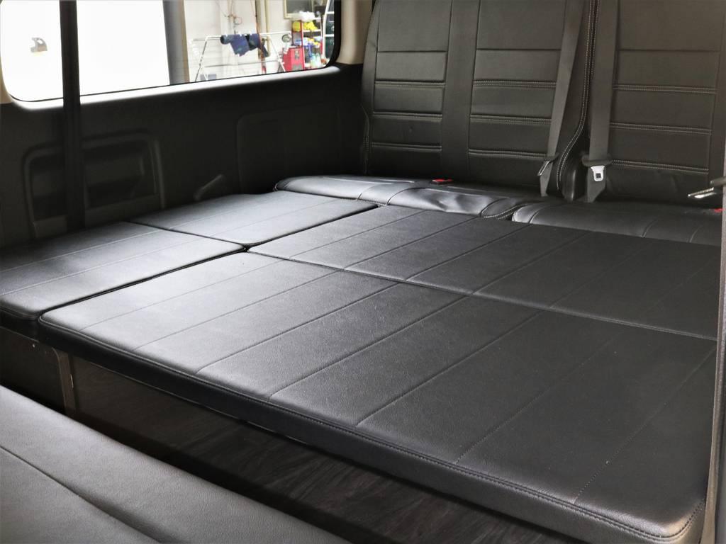 広々と使えるベッドマット!