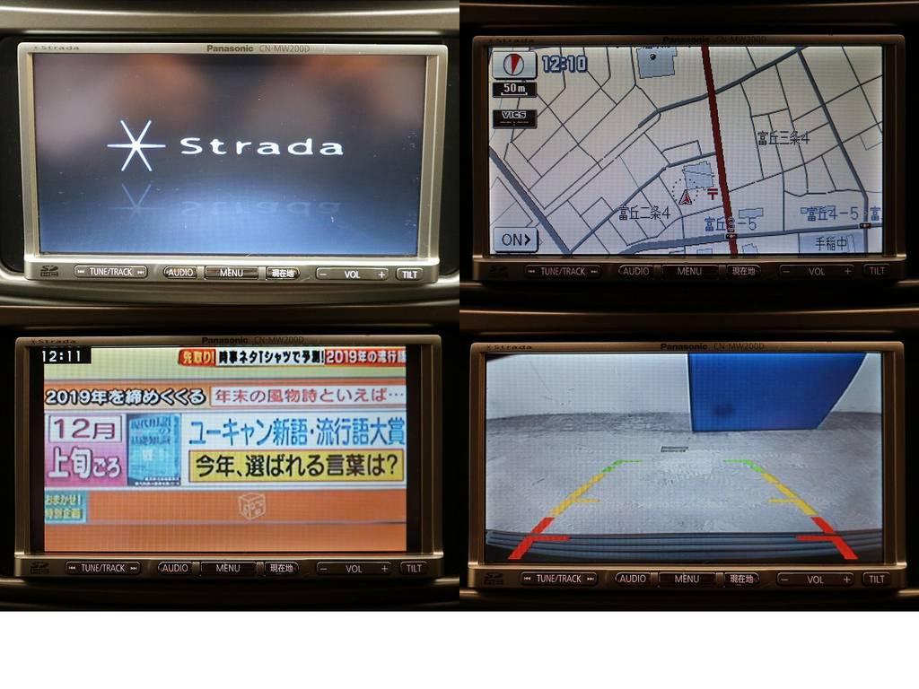 ストラーダSDナビ&バックカメラ☆ | トヨタ ランドクルーザー100 4.7 VXリミテッド 4WD