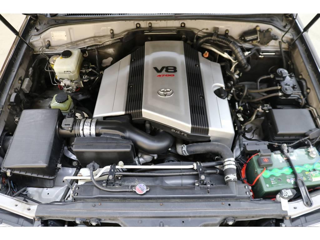 世界中で人気のV8エンジン搭載☆ | トヨタ ランドクルーザー100 4.7 VXリミテッド 4WD