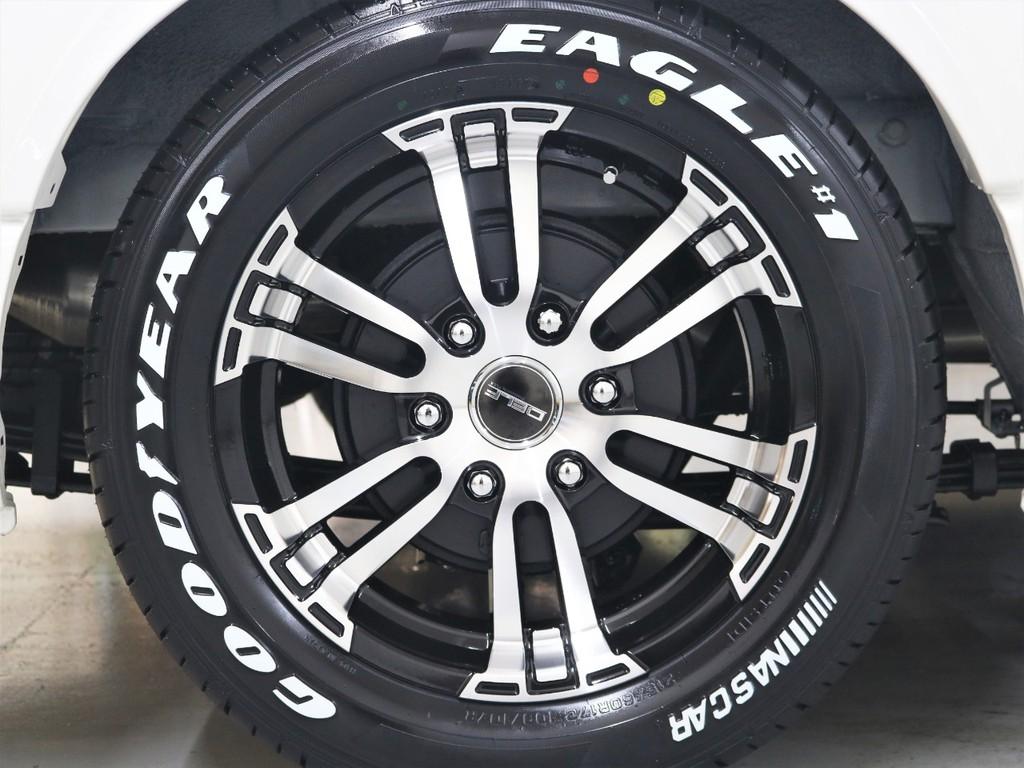FLEXオリジナル17inch【Delf02】AW&グッドイヤーナスカータイヤ!