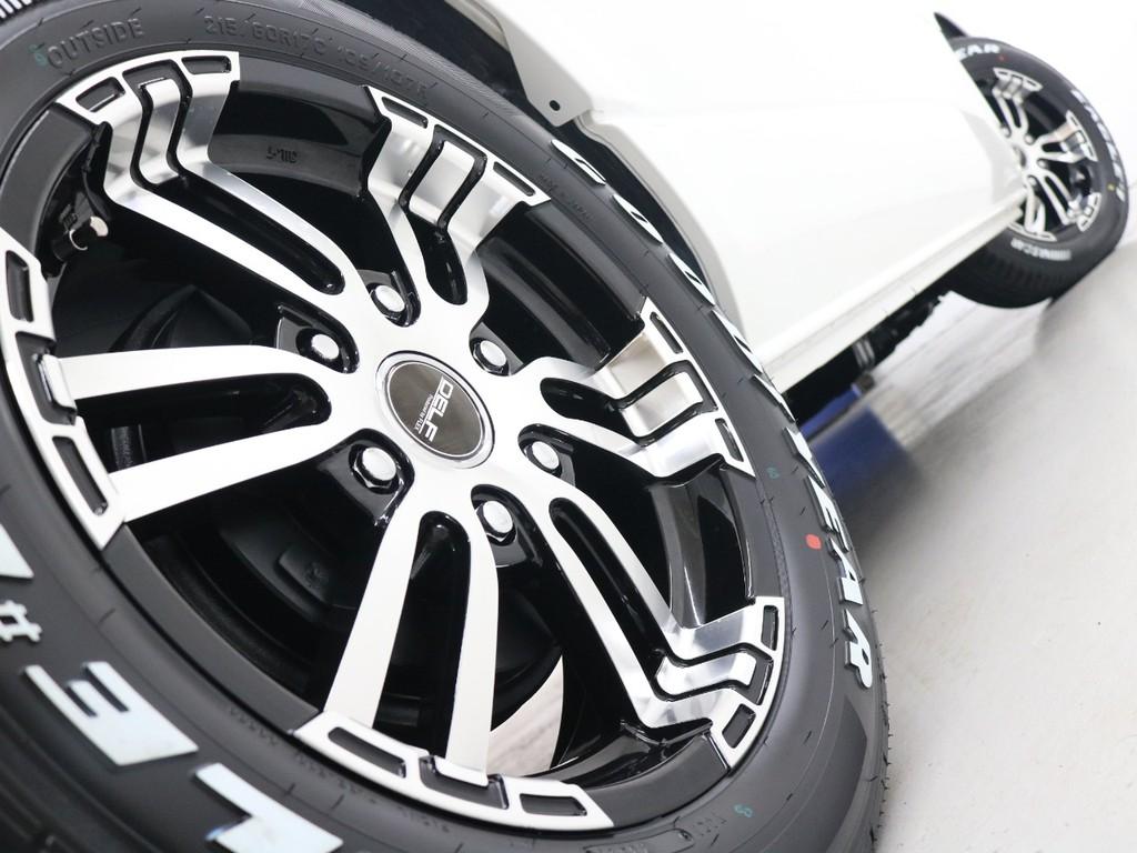 17inchFLEXオリジナル【Delf02】AW&17inchグットイヤーナスカータイヤ!