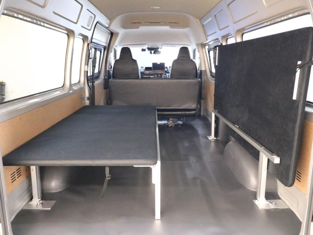 就寝スペースと収納スペースで使い分けることができます!