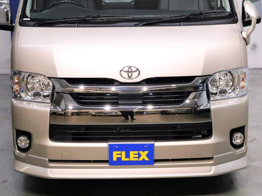 FLEX【DelfinoLine】フロントスポイラー!