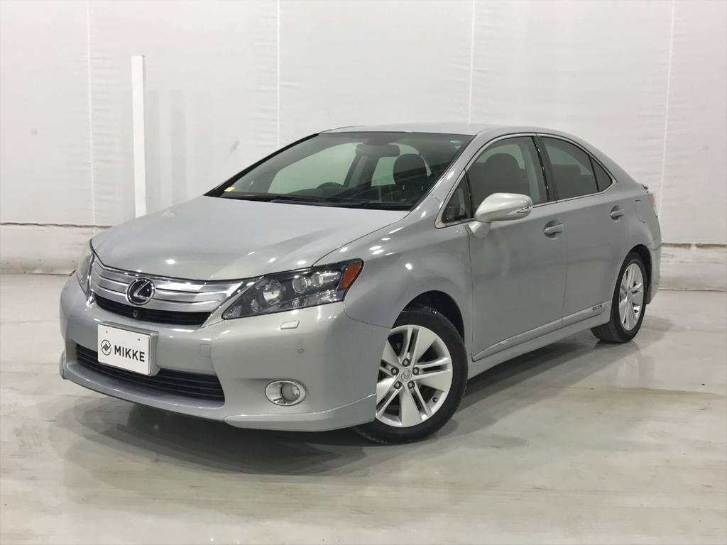 新車時価格453万のHS、燃費がいいのに高性能で高級車、なのに価格はお買い得!!
