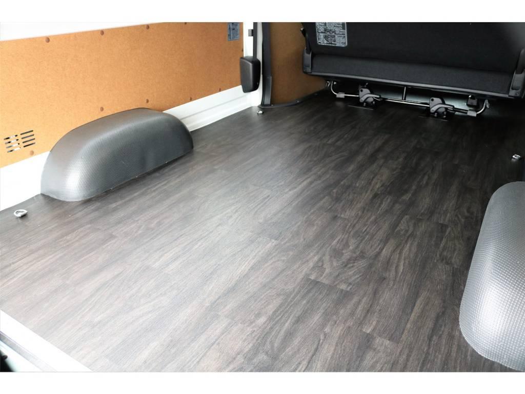 | トヨタ ハイエースバン 3.0 DX ワイド スーパーロング ハイルーフ GLパッケージ ディーゼルターボ 重歩行フロア施工済