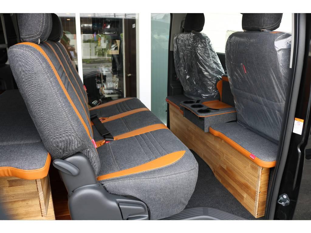 周囲の目を引くこだわりの内装です   トヨタ ハイエースバン 2.0 スーパーGL ロング クラフトプラス ブルックリン仕様
