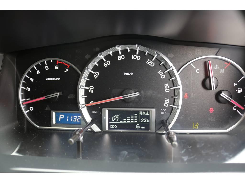 視認性抜群、オプティトロンメーター   トヨタ ハイエースバン 2.0 スーパーGL ロング クラフトプラス ブルックリン仕様