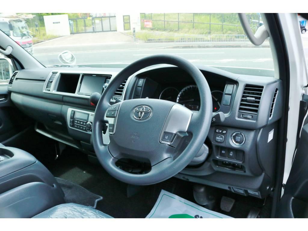 追加のインテリアカスタムも喜んでお受けいたします! | トヨタ ハイエース 2.7 GL ロング ミドルルーフ 4WD TSS付 Ver1 ギブソンエアロ