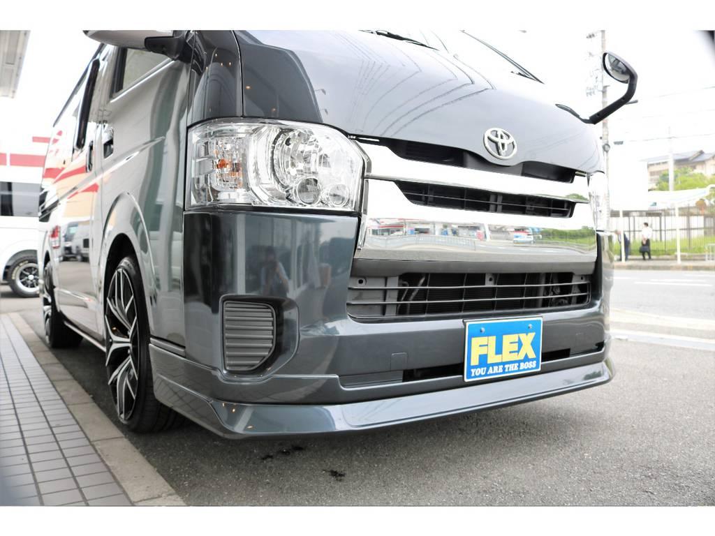 4型フェイスにリノベーション☆ | トヨタ ハイエースバン 2.5 スーパーGL ロング ディーゼルターボ