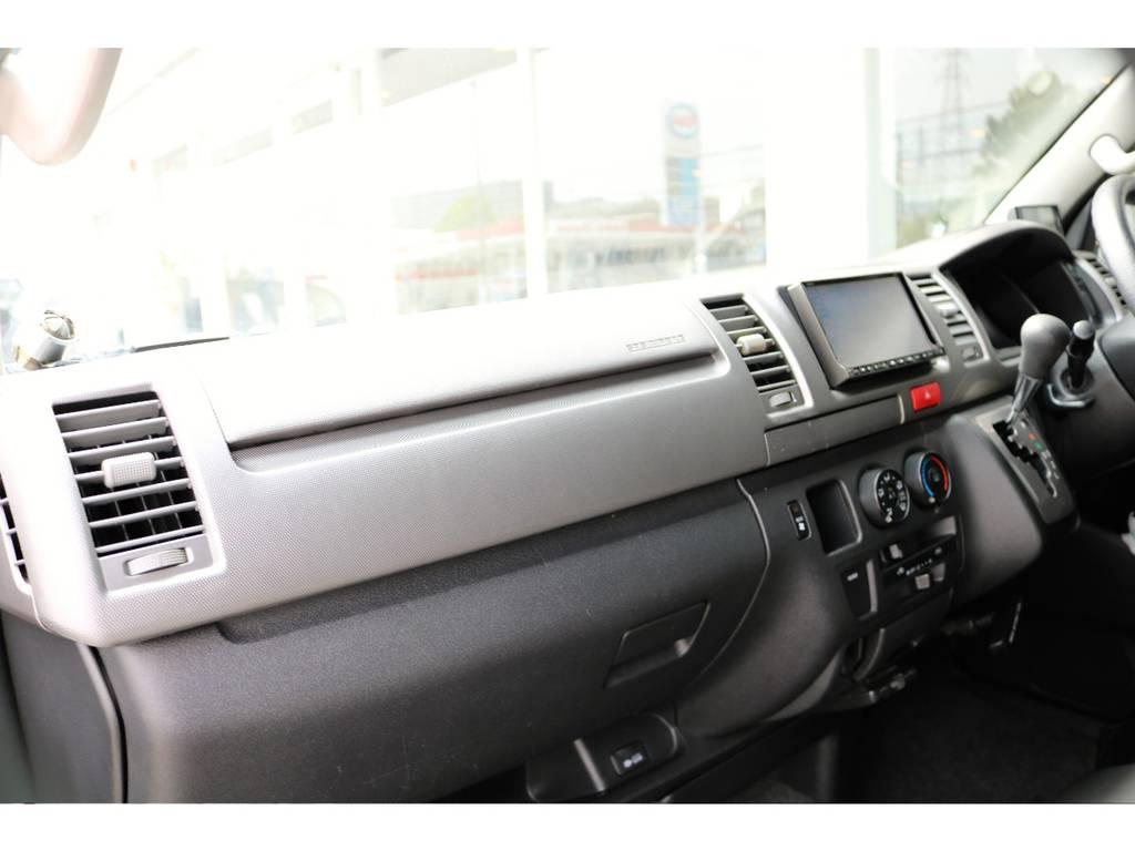 内装もとってもきれいです | トヨタ ハイエースバン 2.5 スーパーGL ロング ディーゼルターボ