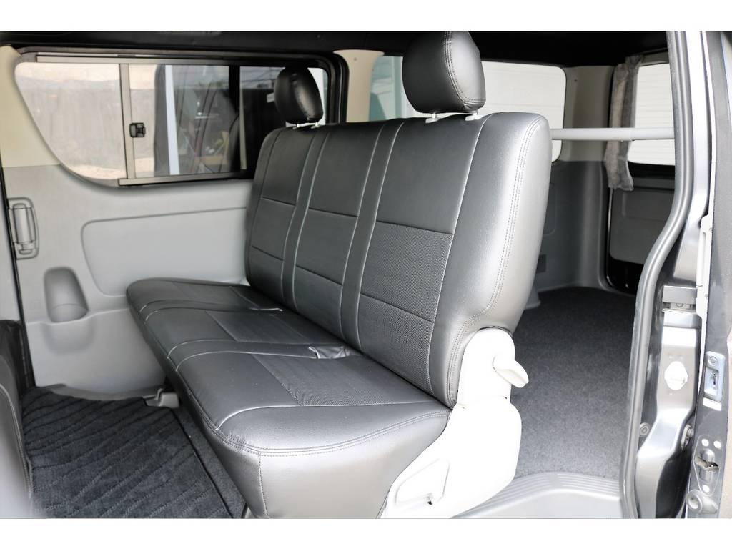 新品シートカバーをインストール済です | トヨタ ハイエースバン 2.5 スーパーGL ロング ディーゼルターボ