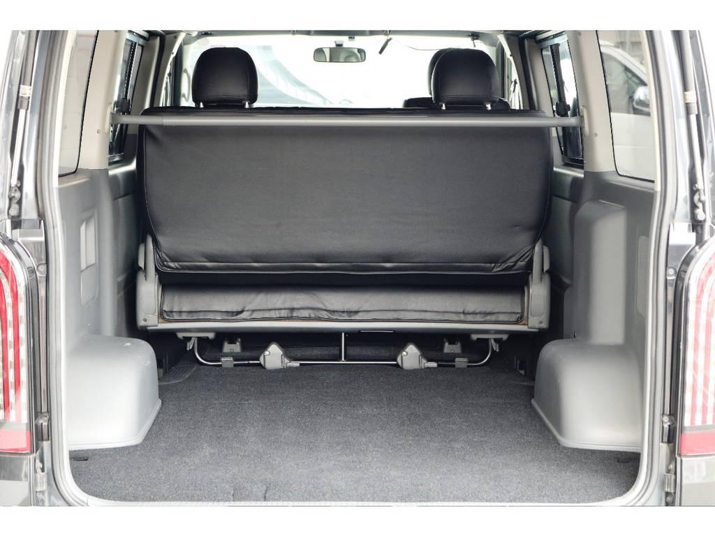 荷室部もきれいですよ | トヨタ ハイエースバン 2.5 スーパーGL ロング ディーゼルターボ