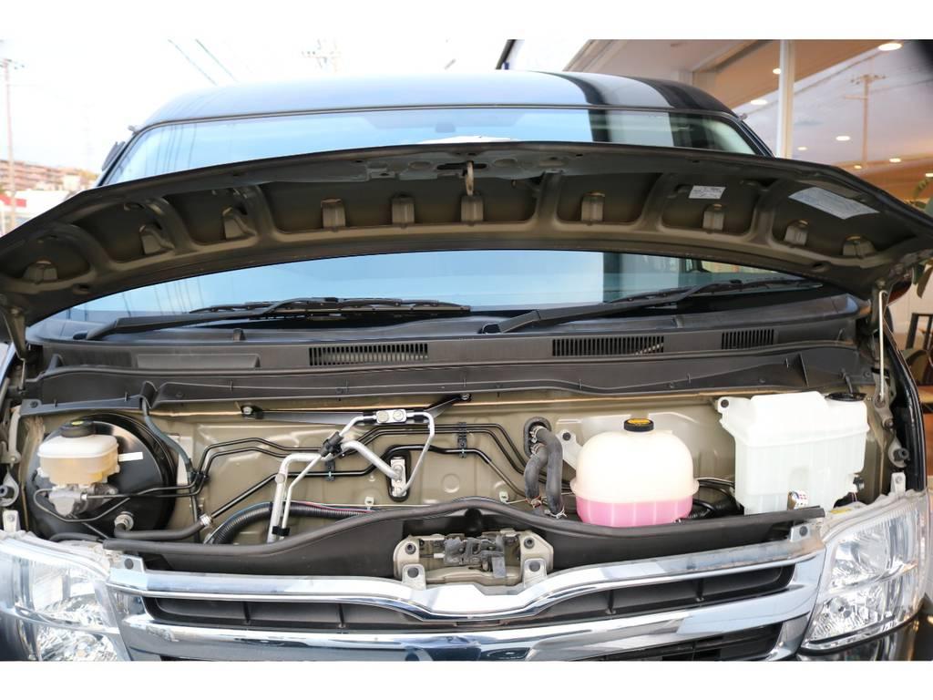 内外装ともにクリーニング済ですので気持ちよく乗って頂けます!! | トヨタ ハイエース 2.7 GL ロング ミドルルーフ