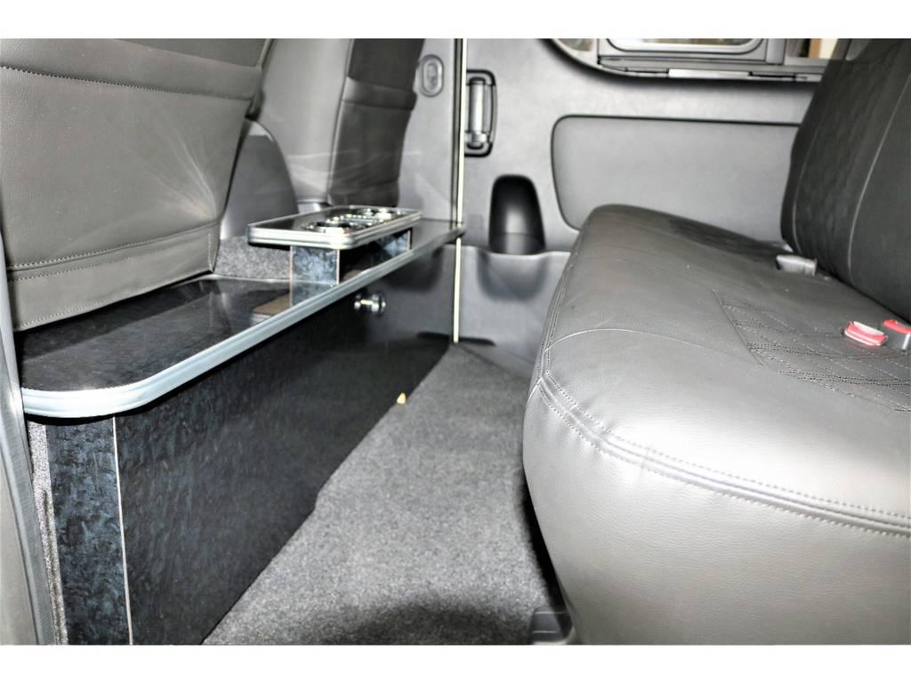 セカンドテーブル付きです☆   トヨタ ハイエースバン 2.0 スーパーGL ロング ローウェン