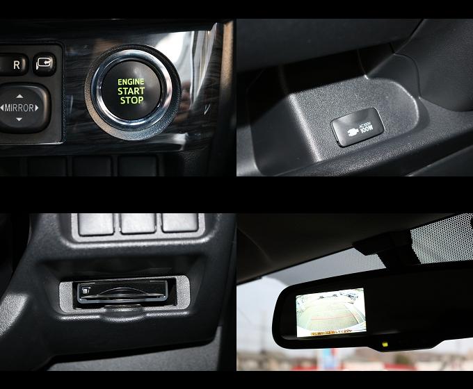 メーカーオプションのプッシュ&スマートキー、100V電源、バックカメラ付防眩ミラー、助手席エアバッグが装着されています☆   トヨタ ハイエースバン 2.0 スーパーGL ロング ローウェン