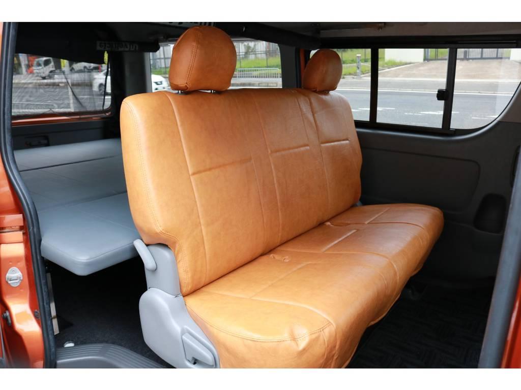 後席シートベルトは後付けも可能ですよ! | トヨタ ハイエースバン 2.7 スーパーGL ワイド ロング ミドルルーフ RENOCAコーストライン