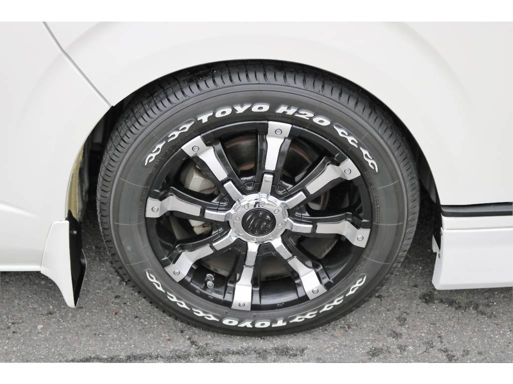トーヨー H20タイヤを装備
