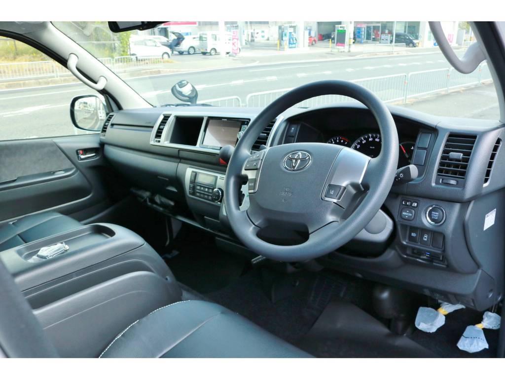 Wエアバッグ&ABS標準装備。TSS(トヨタセーフティーセンス)付き! | トヨタ ハイエース 2.7 GL ロング ミドルルーフ 4WD TSS付!寒冷地仕様!アレンジAS!
