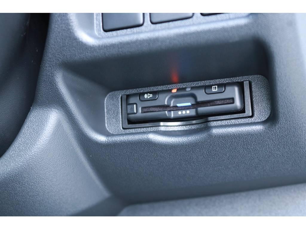 ETCも完備! | トヨタ ハイエース 2.7 GL ロング ミドルルーフ 4WD TSS付!寒冷地仕様!アレンジAS!