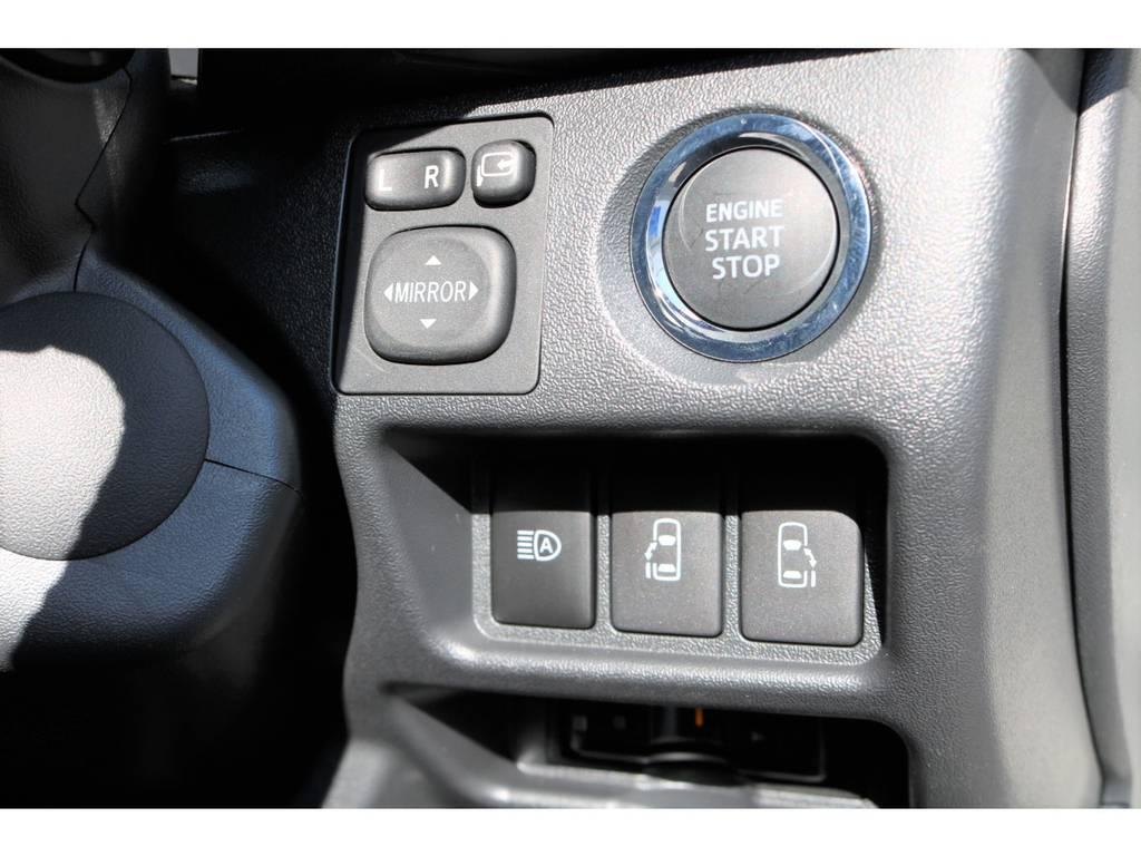 プッシュスタート&スマートエントリーシステム!両側パワースライドドア!   トヨタ ハイエースバン 2.8 スーパーGL 50TH アニバーサリー リミテッド ロングボディ ディーゼルターボ 4WD ☆室内架装車Ver.4☆