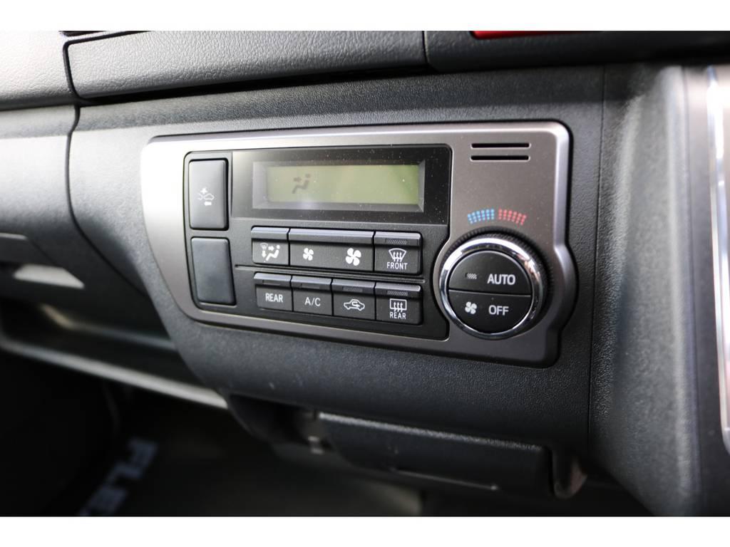 オートエアコン標準装備です。   トヨタ ハイエースバン 2.8 スーパーGL 50TH アニバーサリー リミテッド ロングボディ ディーゼルターボ 4WD ☆室内架装車Ver.4☆