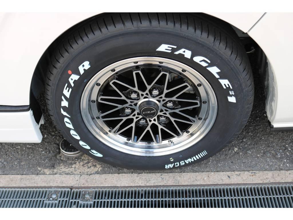 X-TRAP16インチAW&ナスカータイヤ!   トヨタ ハイエースバン 2.8 スーパーGL 50TH アニバーサリー リミテッド ロングボディ ディーゼルターボ 4WD ☆室内架装車Ver.4☆